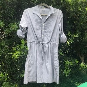 J. Crew chambray shirtdress